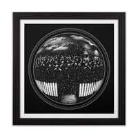 The Undead at My Doorstep - black-square-framed-print - small view