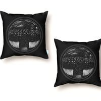 The Undead at My Doorstep - throw-pillow - small view