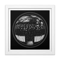 The Undead at My Doorstep - white-square-framed-print - small view