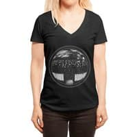 The Undead at My Doorstep - womens-deep-v-neck - small view