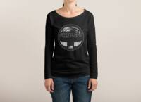 The Undead at My Doorstep - womens-long-sleeve-terry-scoop - small view