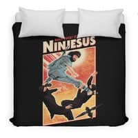 Ninjesus - duvet-cover - small view
