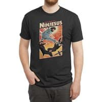 Ninjesus - mens-triblend-tee - small view