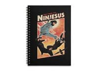 Ninjesus - spiral-notebook - small view