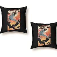 Ninjesus - throw-pillow - small view
