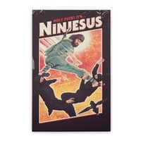 Ninjesus - vertical-stretched-canvas - small view