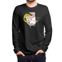 Quick Meal in a Rush! - mens-long-sleeve-tee - small view