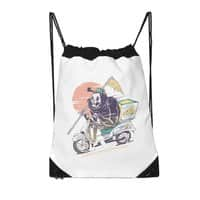 Reaper's Pizza - drawstring-bag - small view