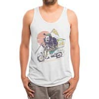 Reaper's Pizza - mens-triblend-tank - small view
