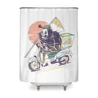 Reaper's Pizza - shower-curtain - small view