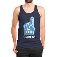 A Pointed Critique - mens-jersey-tank - small view