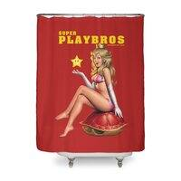 Super Playbros - shower-curtain - small view