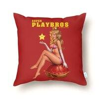 Super Playbros - throw-pillow - small view