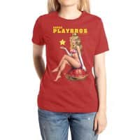Super Playbros - womens-extra-soft-tee - small view