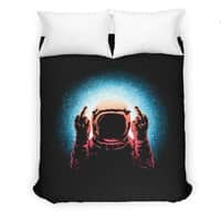 Negative Spaceman - duvet-cover - small view
