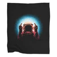 Negative Spaceman - blanket - small view