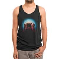 Negative Spaceman - mens-triblend-tank - small view