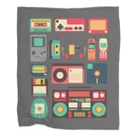 Retro Technology - blanket - small view