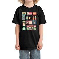 Retro Technology - kids-tee - small view