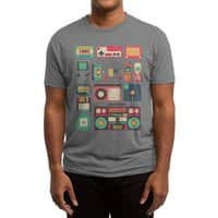 Retro Technology - mens-triblend-tee - small view