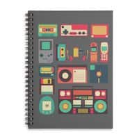 Retro Technology - spiral-notebook - small view