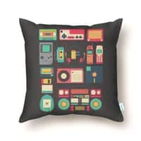 Retro Technology - throw-pillow - small view