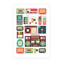 Retro Technology - vertical-print - small view