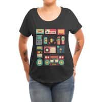 Retro Technology - womens-dolman - small view