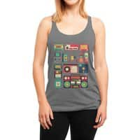 Retro Technology - womens-triblend-racerback-tank - small view