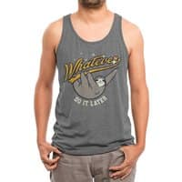 Whatever - mens-triblend-tank - small view