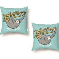 Whatever - throw-pillow - small view