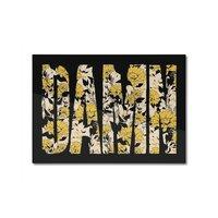 Flowers - horizontal-mounted-aluminum-print - small view