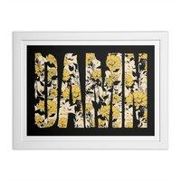 Flowers - white-horizontal-framed-print - small view