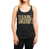 Flowers - womens-triblend-racerback-tank - small view