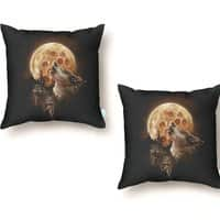 Howlin' For a Slice - throw-pillow - small view