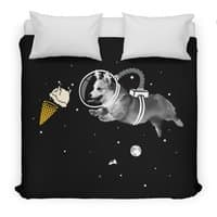 Corgi-naut - duvet-cover - small view