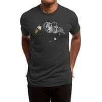 Corgi-naut - mens-triblend-tee - small view