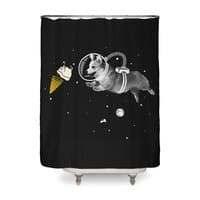 Corgi-naut - shower-curtain - small view