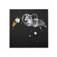 Corgi-naut - square-stretched-canvas - small view