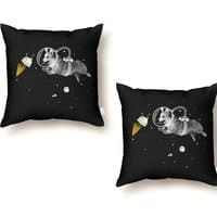 Corgi-naut - throw-pillow - small view