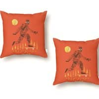 Surefooted - throw-pillow - small view