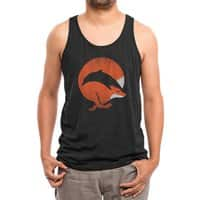 Dolphox - mens-triblend-tank - small view