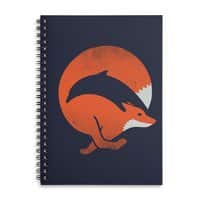 Dolphox - spiral-notebook - small view