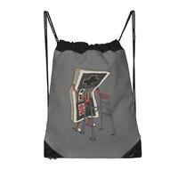 Old Gamer - drawstring-bag - small view