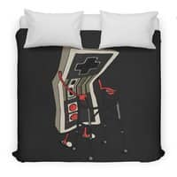 Old Gamer - duvet-cover - small view