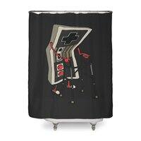 Old Gamer - shower-curtain - small view