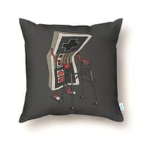 Old Gamer - throw-pillow - small view