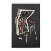 Old Gamer - vertical-stretched-canvas - small view