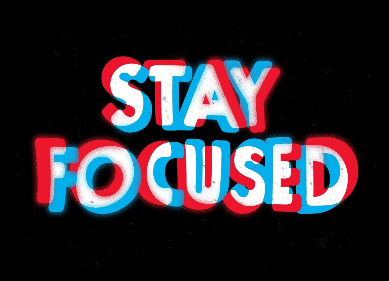 stay focused by eric zelinski mens extra soft tee threadless