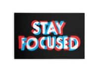 Stay Focused - horizontal-canvas - small view